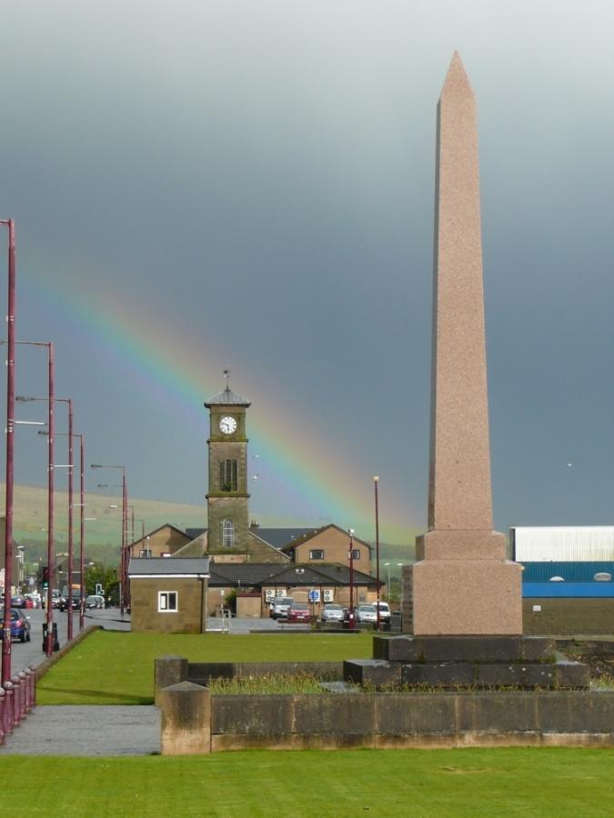 Helenburgh lights Helensburgh rainbow
